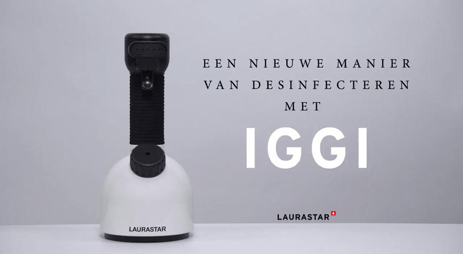 Een nieuwe manier van desinfecteren met IGGI